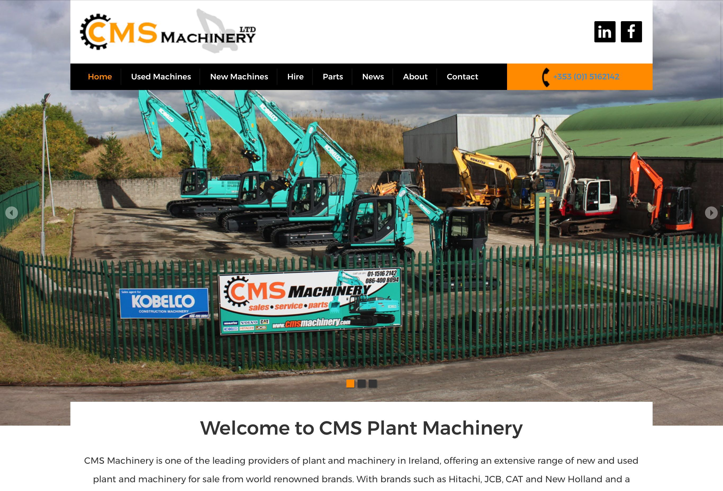 CMS Plant Machinery Ireland
